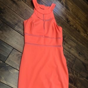 Bright orange Guess dress size medium